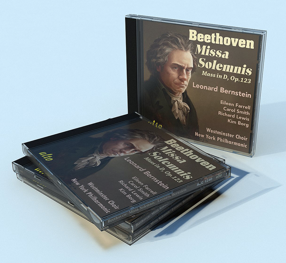 CD cover Missa Solemnis Beethoven